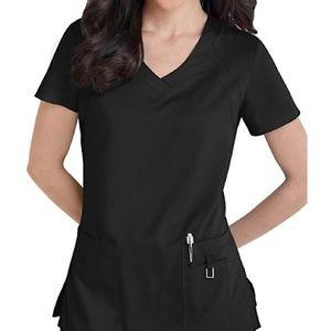 Greys Anatomy Scrub Set XS Black